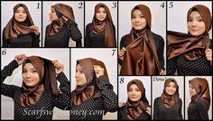Beautiful hijab tutorial