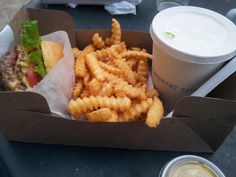 What would Martha do : Burger, chips & peanut butter shake from my favourite take out place in New York - The Shake Shack