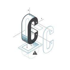 Matt Stevens Exploded Alphabet via www.mr-cup.com