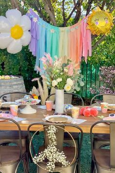 Fall in love with this hippie-themed Easter party! The party food is gorgeous! See more party ideas and share yours at CatchMyParty.com