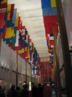 Inside the Kennedy Arts Center, Washington DC (one of the landmarks along the CUCB route!)