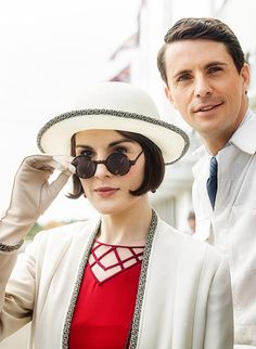 You Had Me at Downton .Lady Mary and Henry Talbot, Downton Abbey Downton Abbey Mary, Downton Abbey Season 6, Downton Abbey Fashion, Matthew Goode, Michelle Dockery, Elsa Peretti, Carolina Herrera, Henry Talbot, Karl Lagerfeld