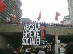 Montréal le 22 mai 2012 - Manifestations au Québec: «Charest a laissé dégénérer la crise»