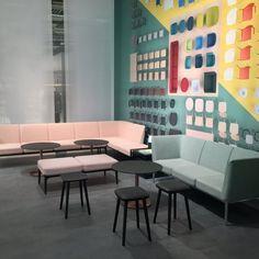 #Pedrali collections on display at #SFF2016 #Stockholm #designfurniture