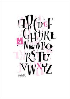 159 Best Alphabet Lettering Images Lettering Lettering