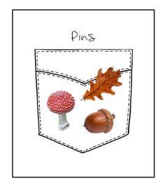Set of Autumnal Pins  Brooches / Blouse & di CreazioniKawaiiShop