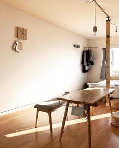 【おしゃれ女子の一人暮らし】アイディア満載!1Rの間取りを生かした空間づくり | folk Bedroom Interior, Bedroom Design, Gothic Home Decor, Tiny Bedroom Design, Bedroom Decor, Interior Design, Home Decor, House Interior, Asian Interior
