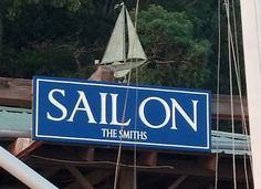 This Fathers Day present was designed on Danthonia's Sign Designer and is now gracing the Dad's dock. Cottage Names, Lake House Signs, Fathers Day Presents, Home Signs, Sailing, Vacation, Candle, Vacations, Holidays Music
