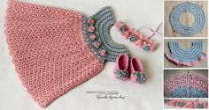 Gorgeous Crochet Girl Dress – Step by Step