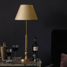 Cuthbert lamp, inspired by an old naval light. Made from purest brass - it exudes purest class.
