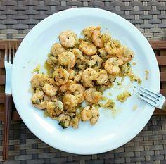 Camarão a la rijo #food