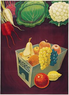 Migros 1944. the super market