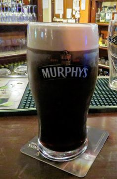 St. Patrick's Day Weekend on Dingle Peninsula - Pint of Murphy's Beer