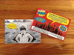 Superhero Party Invitation.