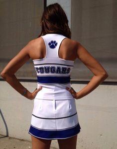 Firth High School Cheer Uniform Back #nycecheer