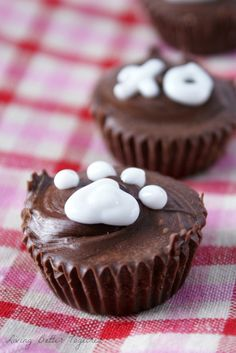 Puppy Love - Peanut Butter Pup Cups Recipe: dog friendly ones for Valentines!