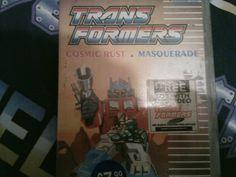 an old #autobot relic a transformers VHS tape