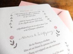 Maria & Wolfgang | Wald und Schwertwww.waldundschwert.com #stationary #wedding #invitation #handwriting #typography #hummingbird Paper Goods, Hummingbird, Handwriting, Stationary, Wedding Invitations, Typography, Woodland Forest, Nice Asses, Penmanship