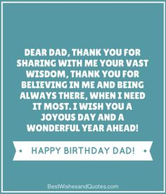 36 Best Happy Birthday Dad Images