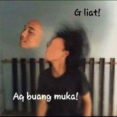 """""""Kalo gue nikah s… # Fiksi penggemar # amreading # books # wattpad indonesia Abang Yadong ✔️ Memes Funny Faces, Funny Kpop Memes, Exo Memes, Cute Memes, All Meme, Meme Meme, Harsh Words, Drama Memes, Cartoon Jokes"""