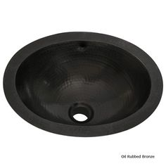 Belle Foret BFC11ORB Small Oval Copper Lavatory - Oil Rubbed Bronze - http://www.expressdecor.com/belle-foret-small-oval-copper-lavatory-oil-rubbed-bronze-bfc11orb.html