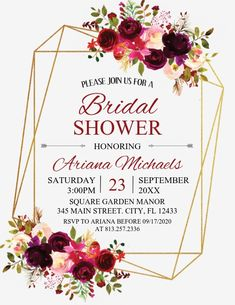 Design created with PosterMyWall Event Flyer Templates, Wedding Templates, Invitation Ideas, Invitation Templates, Event Flyers, Free Downloads, Bridal Shower Invitations, Wedding Events, Printing