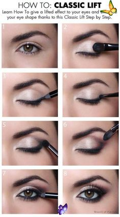 <br> Natural Eyes, Natural Eye Makeup, Natural Beauty Tips, Makeup Tricks, Eye Makeup Tips, Makeup Ideas, Beauty Makeup, Diy Beauty, Face Beauty