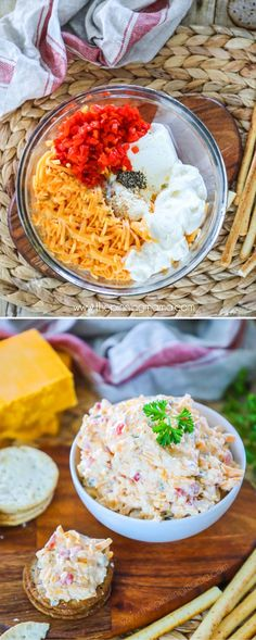 Best ever Pimento Cheese Recipe- Eat it with Celery for low carb appetizer - Cheese Recipes Pimento Cheese Sandwiches, Homemade Pimento Cheese, Pimento Cheese Recipes, Cheese Sandwich Recipes, Cream Cheese Recipes, White Cheddar Pimento Cheese Recipe, Sandwich Ideas, Low Carb Appetizers, Cheese Appetizers