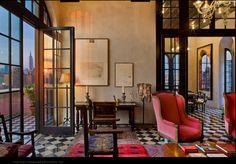 Julian Schnabel's home Palazzo Chupi in NYC