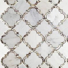 marble arabesque tile