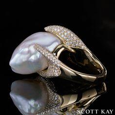 pearl ring...