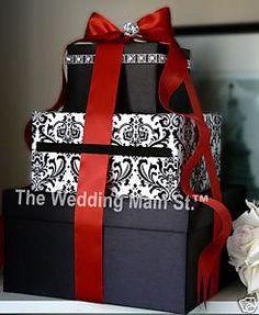 card box .. who wants to make this 4 me?  Deep purple ribbon...