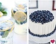 Country Wedding Blueberries.