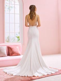 BridalLive Wedding Dress Backs, Wedding Dress Sizes, Sexy Wedding Dresses, Bridal Dresses, Sheer Wedding Dress, Pronovias Wedding Dress, Kylie, San Patrick, Wedding Silhouette