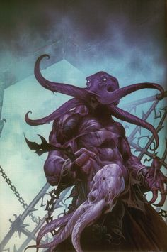 – Wayne Reynolds cover art for Dungeon Magazine # 94