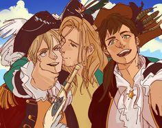Pirates! Arthur Francis Antonio