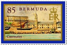 Bermuda stamp Casemates Dockyard 2011