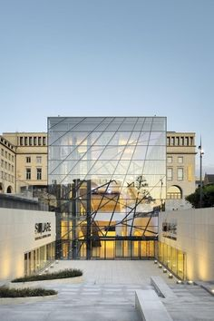 SQUARE Brussels Meeting Center / A2RC Architects