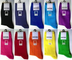 Keep those feet warm with our Pantone palette socks