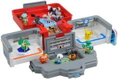 Monster Collection Pokemon Center Black and White BW Playset Tomy Japan Import by Takara Tomy. $75.50. The left and right walls of the center can be opened to reveal a restoration machine and friendly shop. The roof of the Pokemon Center can be opened up to create a second floor. Special handles are included to move the Pokemon in the battle stadium. The trapdoor on the bottom floor can be lifted up to create a battle stadium. Monster Collection Pokemon Center Black and White B...