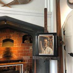 Akseli Gallen-Kallela Self portrait, 1916 Hot weather, 1909  #tervaspää #gallenkallela #artist #finland #museum Creative Diary, Hot, Instagram, Home Decor, Homemade Home Decor, Interior Design, Home Interiors, Decoration Home, Home Decoration