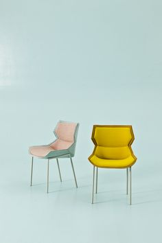 The Clarissa Family Of Chairs Have A Characteristic Seatback Which Embraces  The Sitter And Partially Conceals