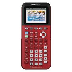 Texas Instruments TI-84 Plus CE-T color grafische rekenmachine rood  |  De TI-84 Plus CE-T grafische rekenmachine is dé rekenmachine voor het voortgezet onderwijs. Deze nieuwste versie heeft een 30% dunner design, een schitterend hogeresolutie kleurenscherm en een schokbestendig schuifdeksel. Deze rekenmachine bevat alle functies voor wiskunde, scheikunde en natuurkunde op de middelbare school.
