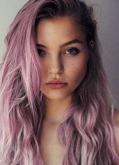 Lavender hair. Bucket list. I don't even care that my hair is close to black. Someday I will have at least a streak of my hair purple.