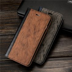 Fashion Tiger Stripe Leather Phone Case for iPhone 6 6S 7 7 Plus Wallet Card Holder Stand Flip Cover for iphone 6 7 Plus Case #Affiliate