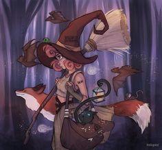 « Midnight Witch » par itslopez