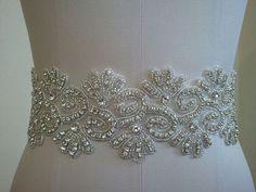 Hey, I found this really awesome Etsy listing at https://www.etsy.com/listing/179468161/sample-sale-wedding-belt-bridal-belt