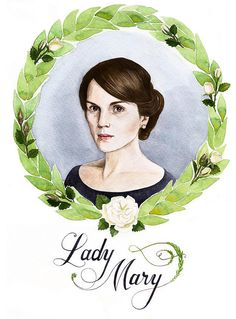 Downton Abbey-Lady Mary