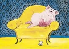 Helme Heine - New Ideas This Little Piggy, Little Pigs, Toot & Puddle, Pot Belly Pigs, Pig Drawing, Pig Art, Heine, Book Illustration, Winnie The Pooh