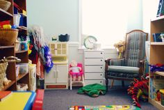 Play Therapy Room at The Center for Creativity and Healing, Charlotte NC